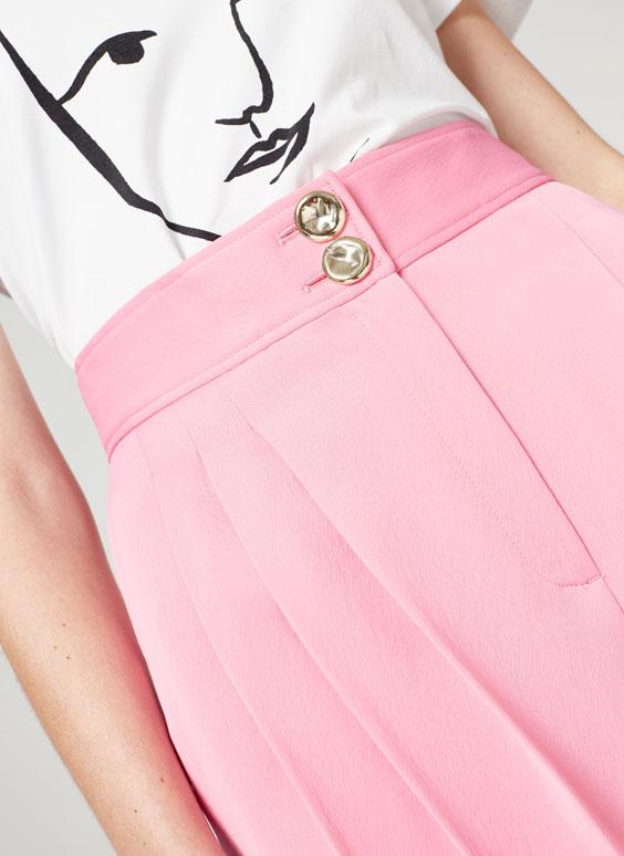 Pink skort