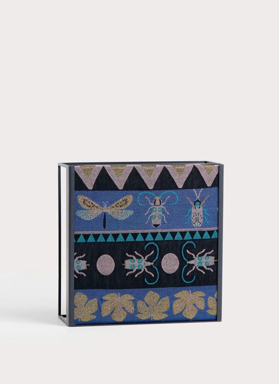 Shimmery jacquard shawl