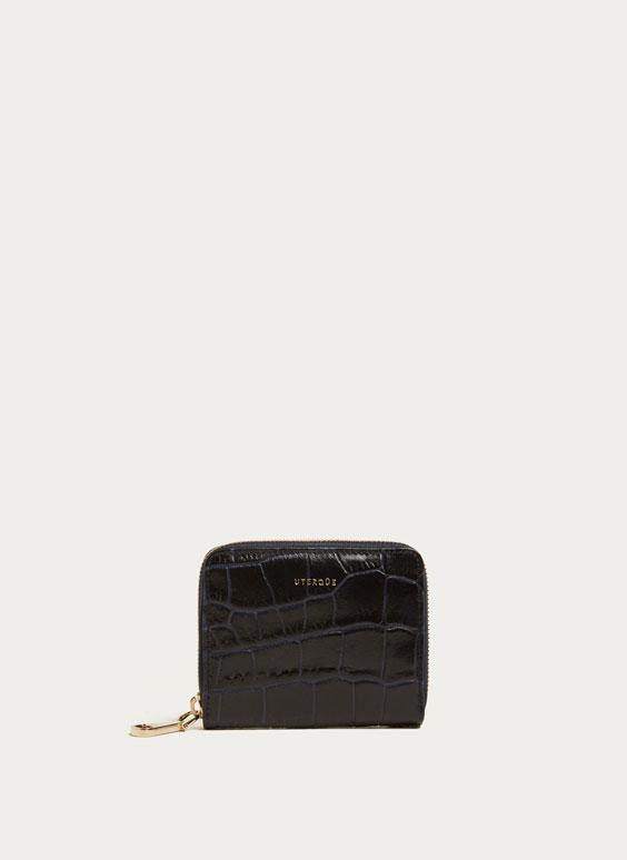 Μικρό πορτοφόλι σε όψη croco