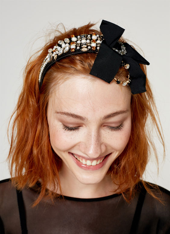 Bejewelled headband
