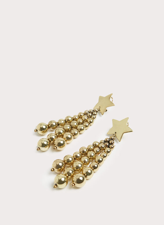 Long earrings stars