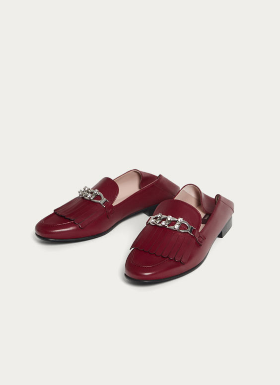Mule loafers