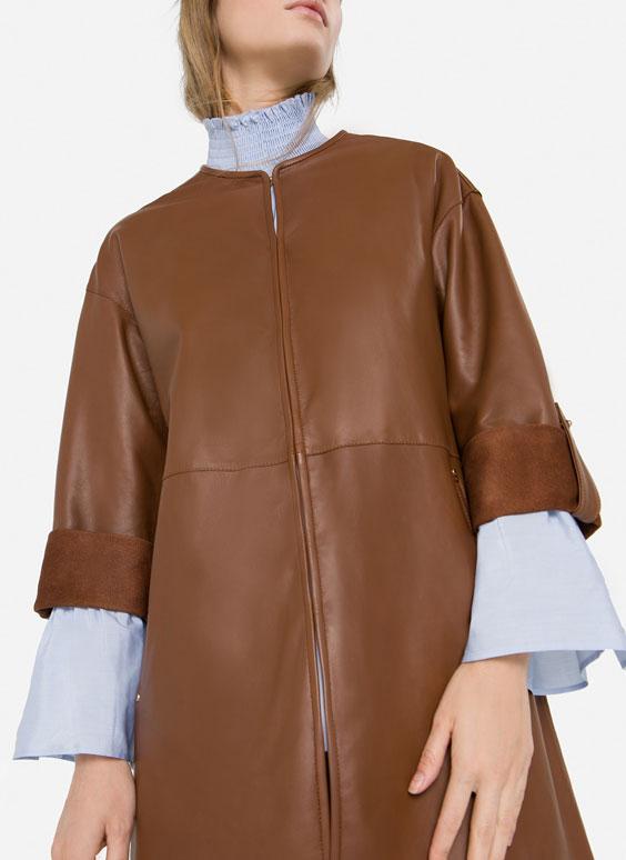 Nappa overshirt
