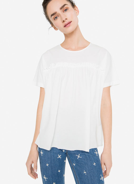 Flounce T-shirt