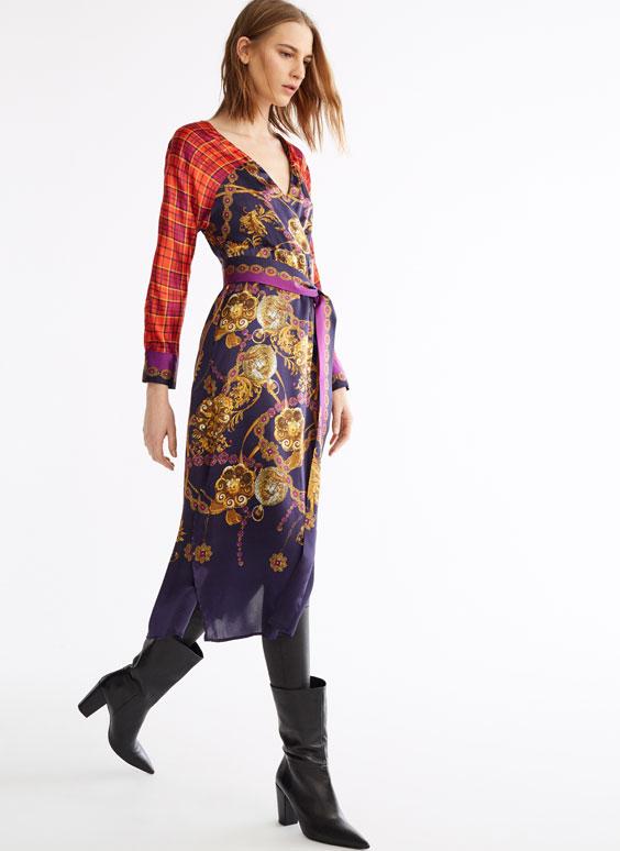 Vestido mosaico