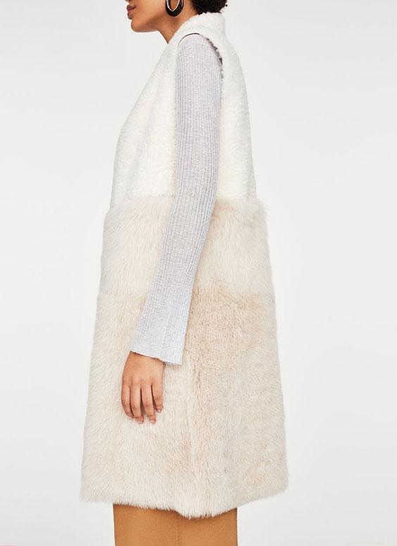 Reversible two-tone waistcoat