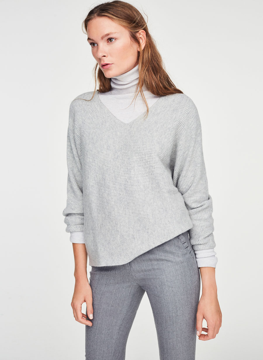 aa7c2f90b0 Type Of Shirt To Wear Under V Neck Sweater