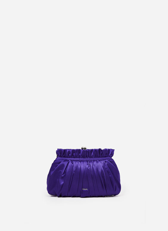 Pleated handbag