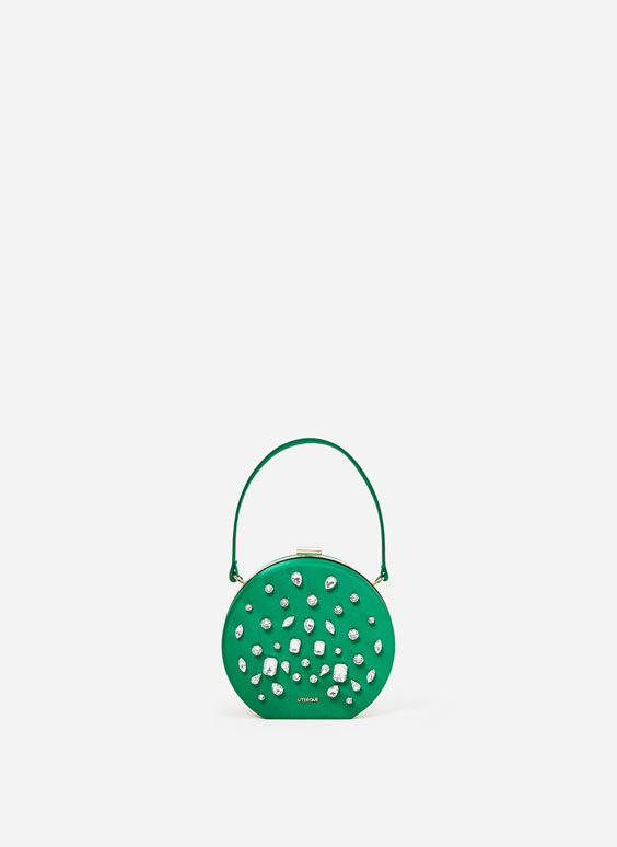 Bejewelled handbag
