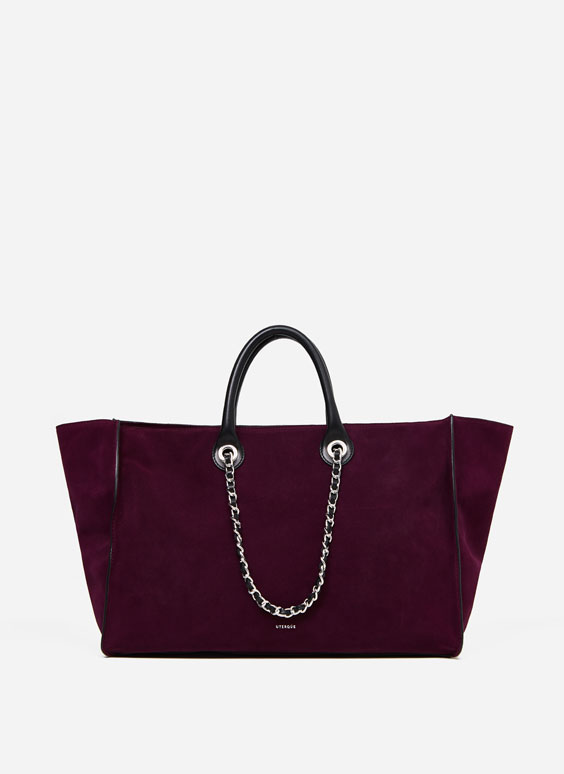 Double handle tote bag