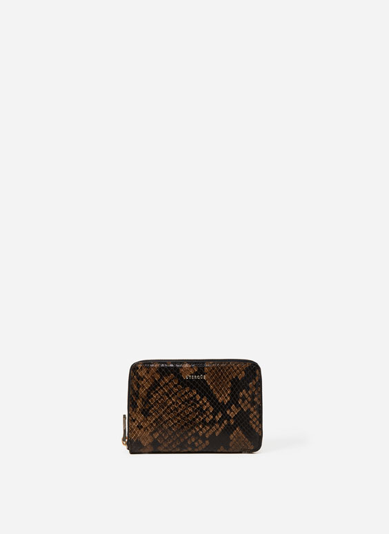 Medium snakeskin purse