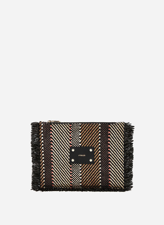 Clutch spigata multicolore