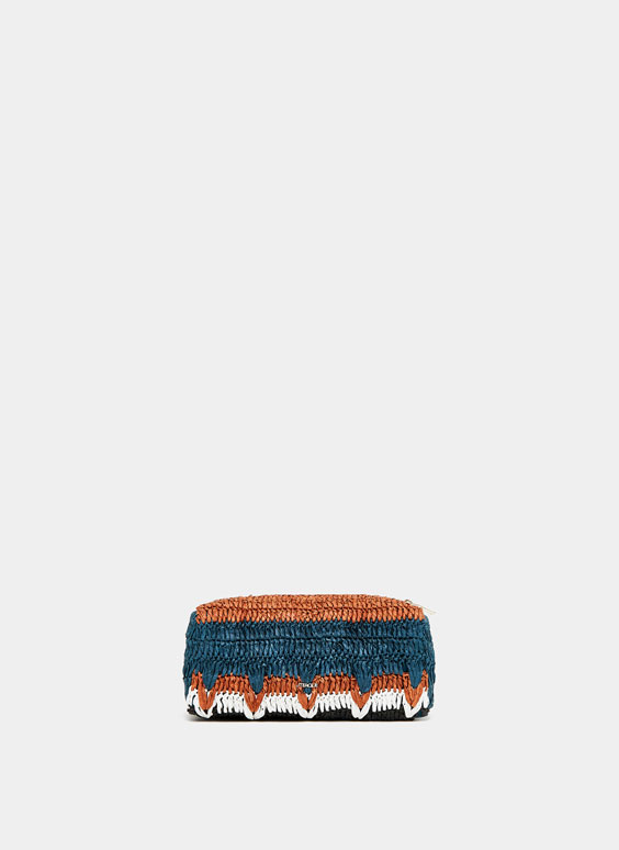 Zigzag toiletry bag