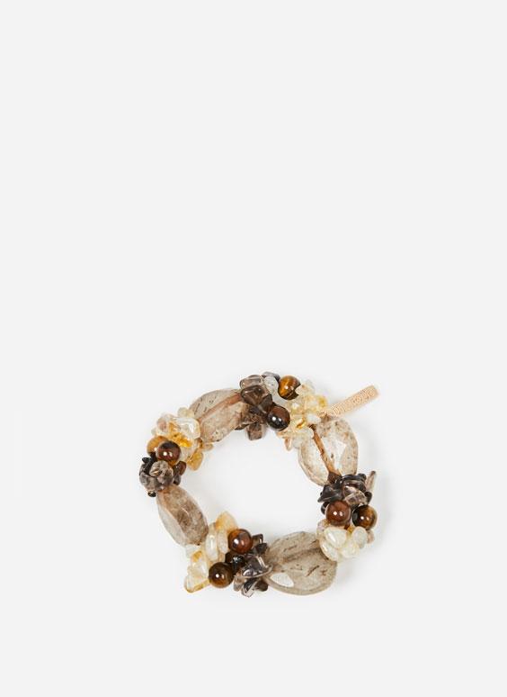 Mineral stone bracelet