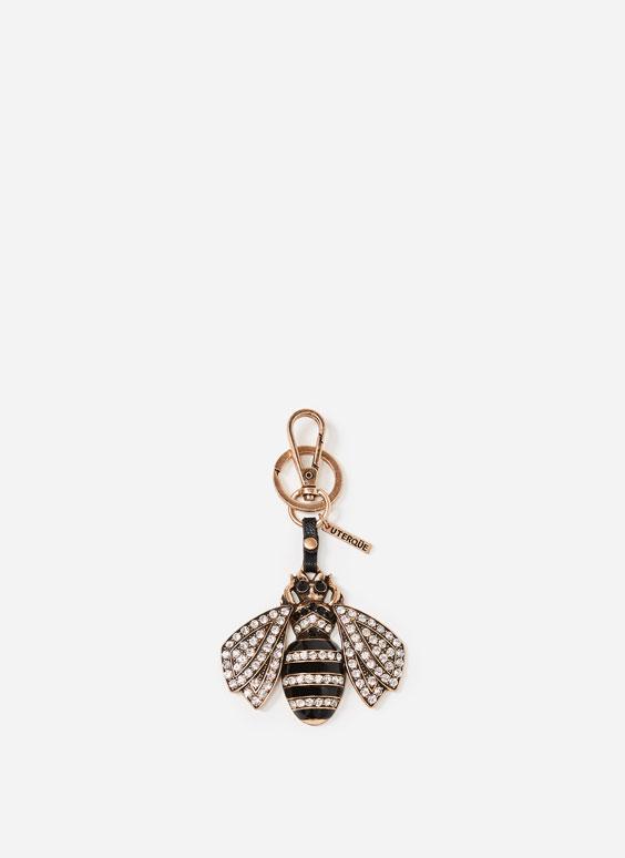 Porte-clés reine abeille