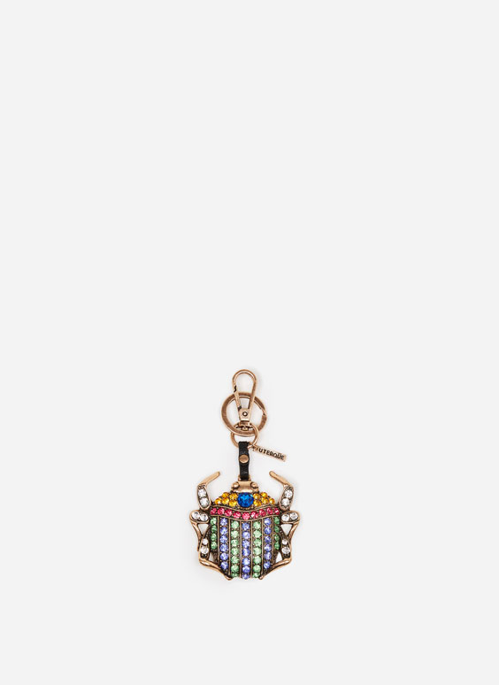 Egyptian beetle keyring