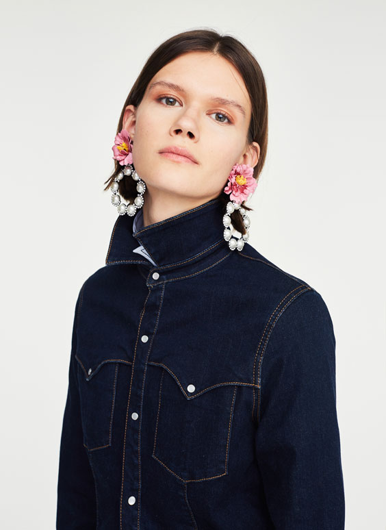 Cowboy hoop earrings