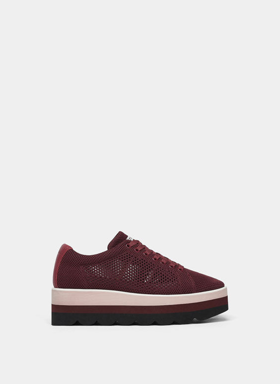 Blucher burgundy