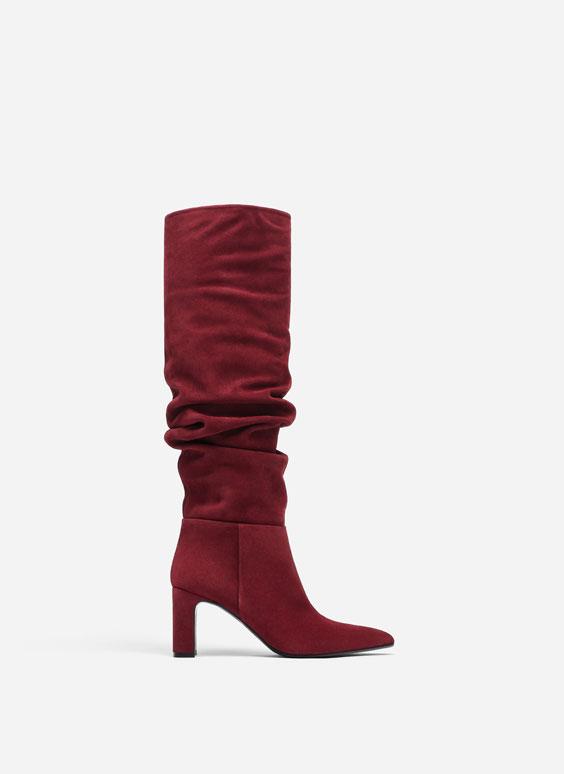 Gaučo stiliaus raukšlėti auliniai batai