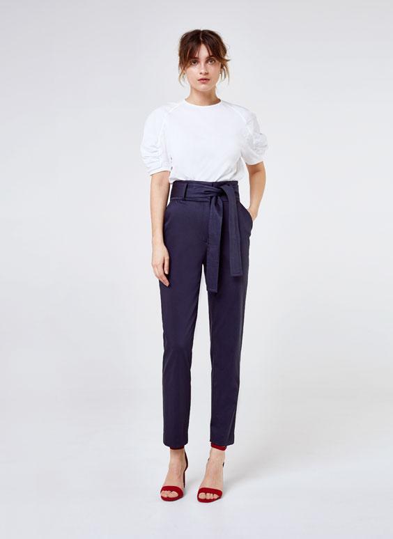 Панталон с панделка
