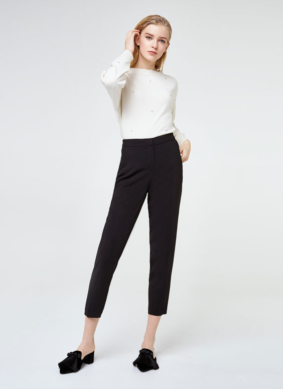 Passementerie trousers