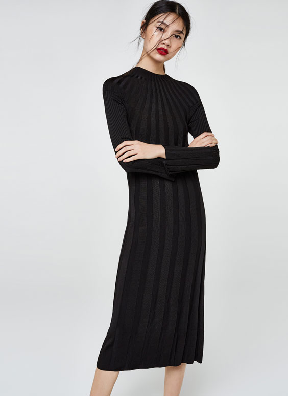 Ribbed dress