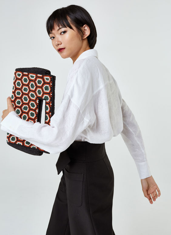 Geometric-effect bag