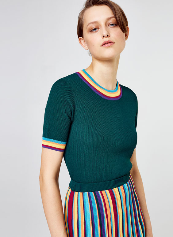 Multicoloured sweater
