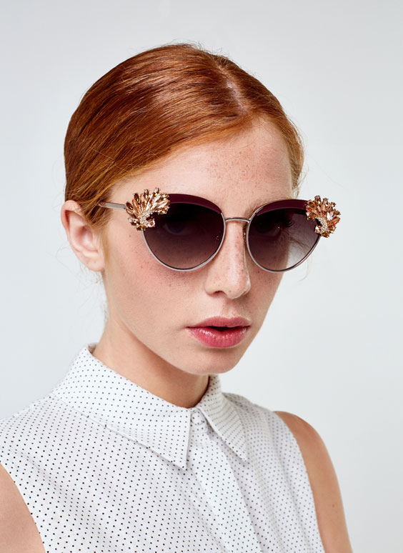 Bejewelled sunglasses