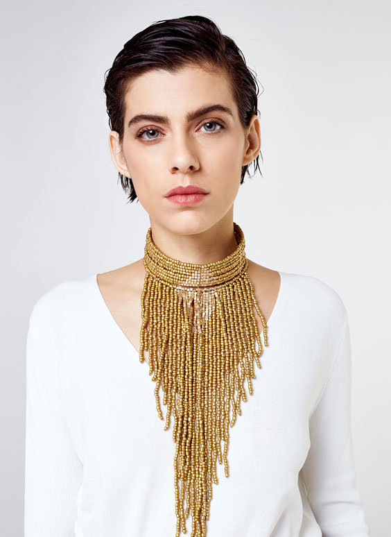Kasbah choker necklace