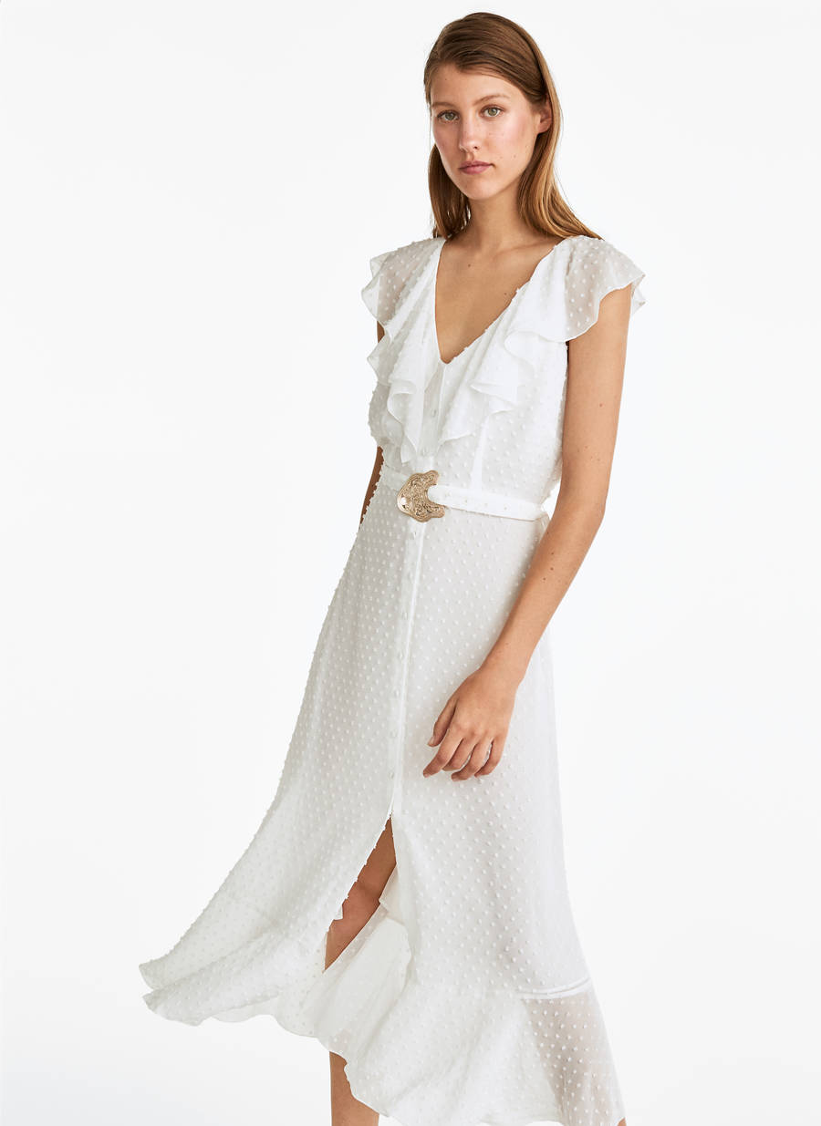 Códigos promocionales nueva completo en especificaciones Vestido plumeti