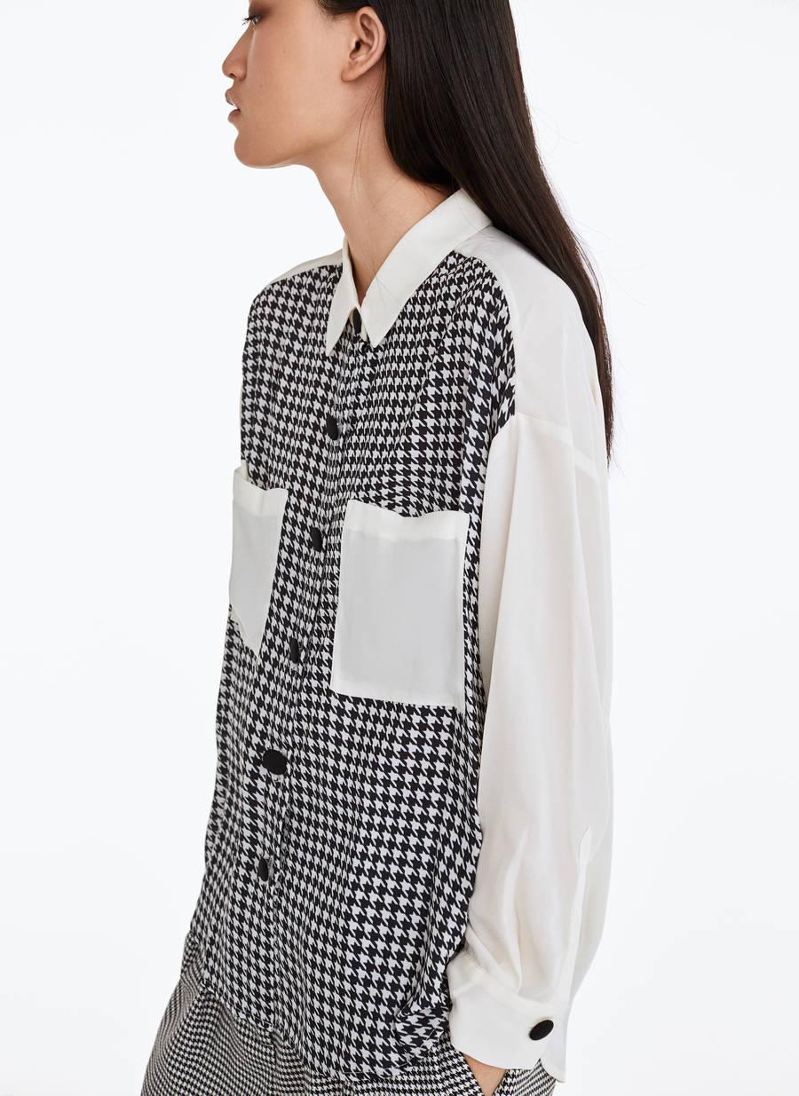 Camicia Pied De Poule by Uterqüe