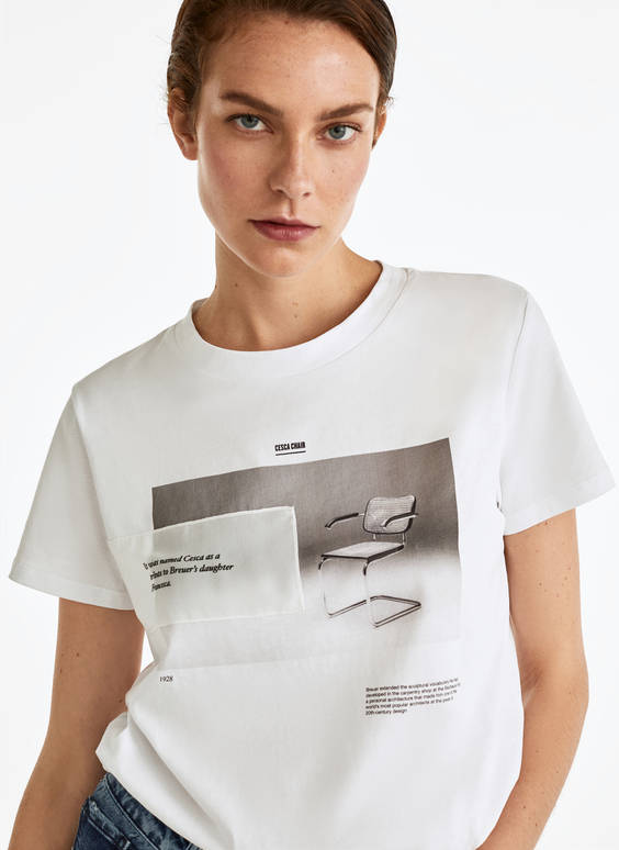 Cesca chair T-shirt
