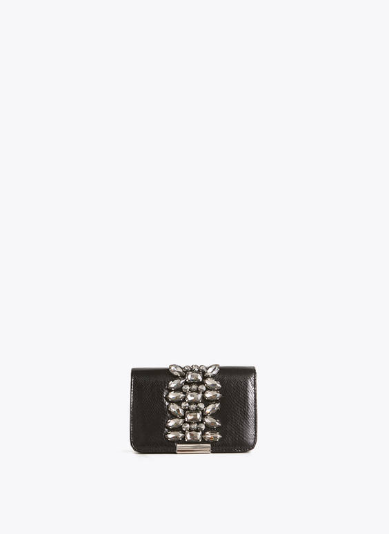 Bejewelled evening bag