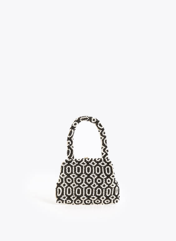 Two-tone evening bag