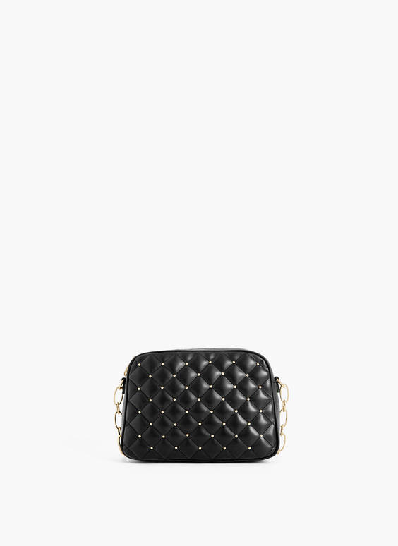 Quilted crossbody bag