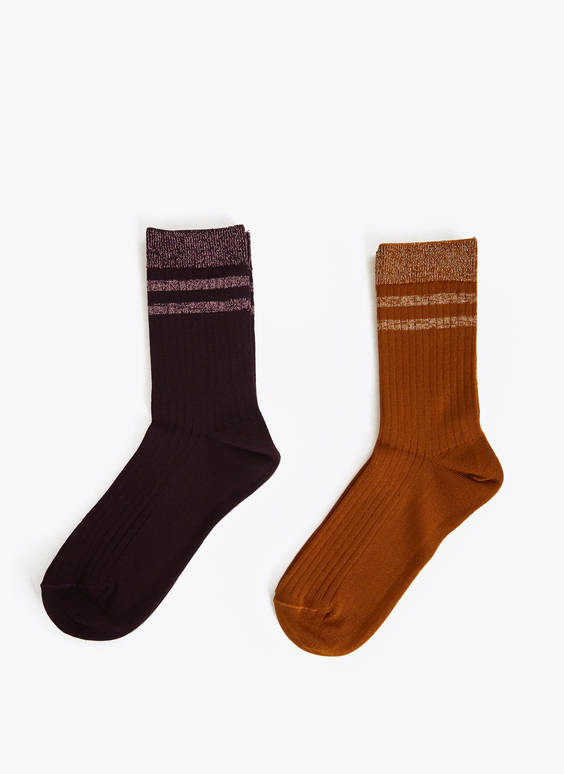 Pack of metallic socks