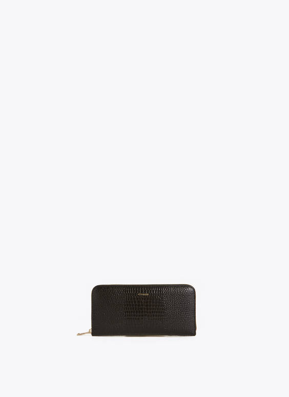 70s mock croc purse