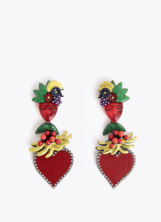 Exotic earrings