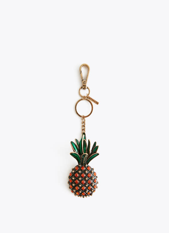 Pineapple key ring