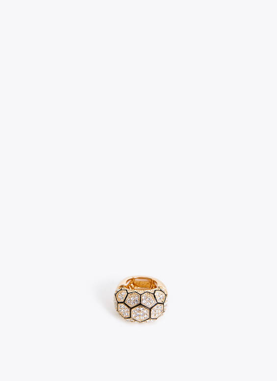 Rhinestone stretch ring
