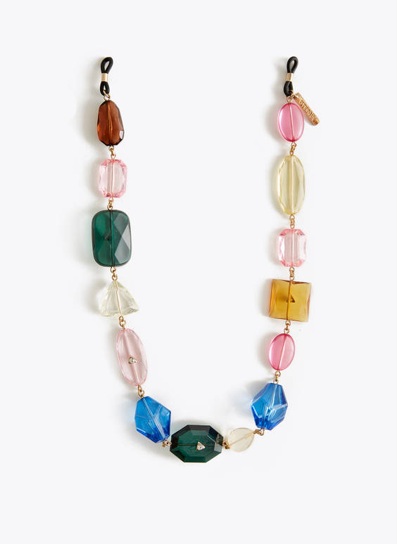 Multicoloured glasses chain