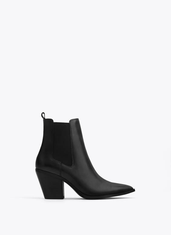 Cowboy stretch ankle boots