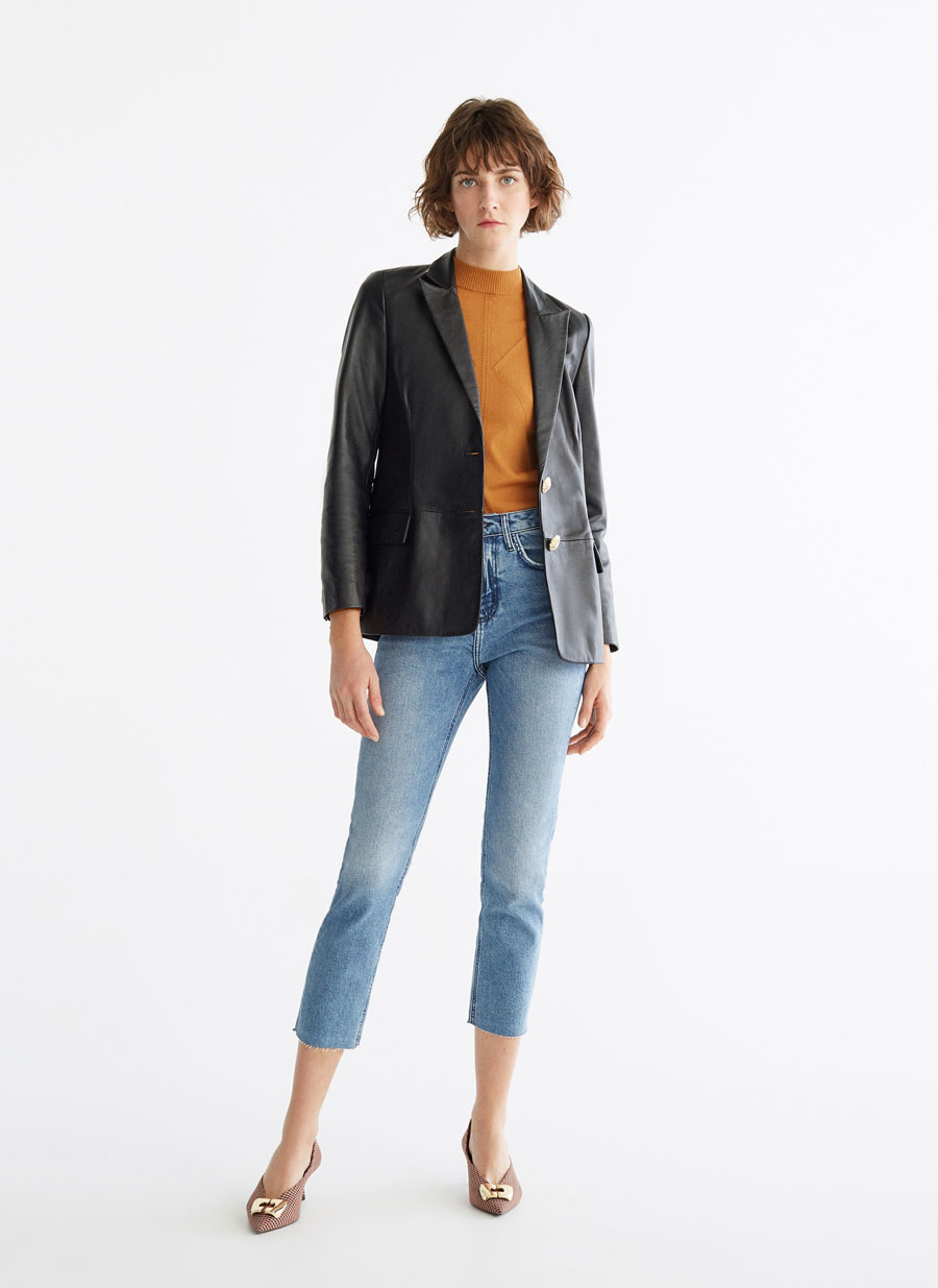 787ee43b20d Frayed jeans - View all - Trousers - Ready to wear - Uterqüe United Kingdom