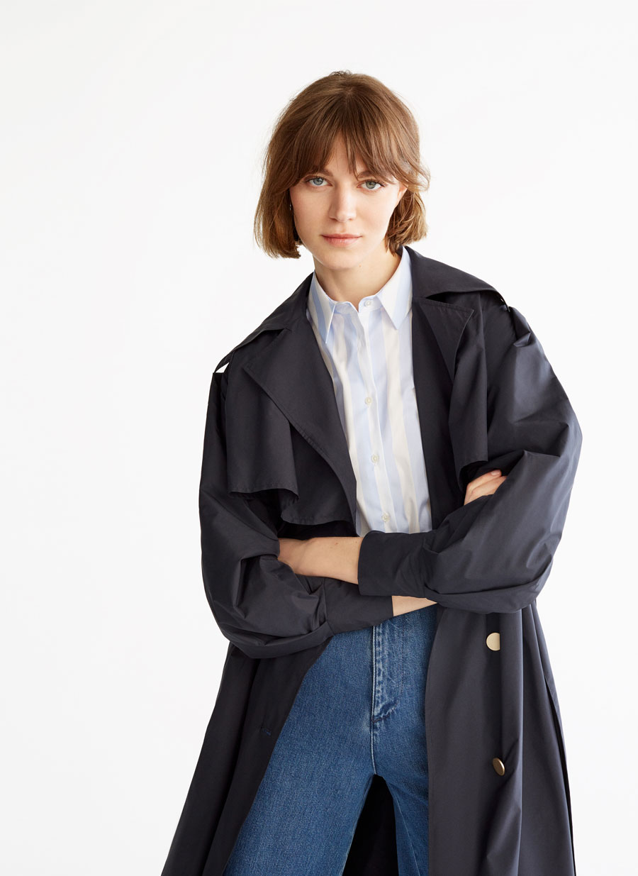 92b8a1682735 Trench coat - View all - Coats and jackets - Ready to wear - Uterqüe ...