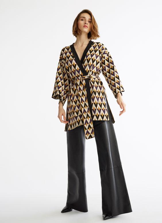 Žakárové kimono