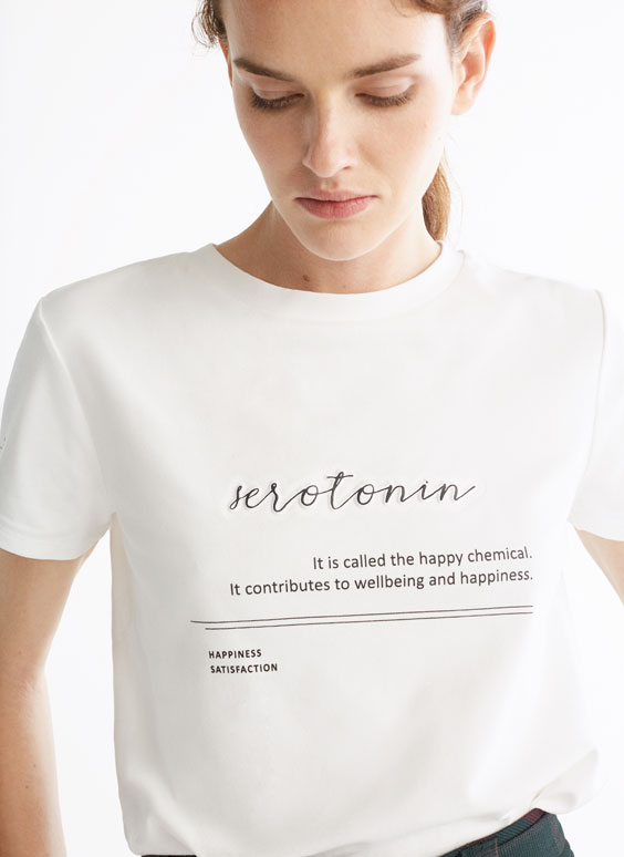 """Marškinėliai """"serotonin"""""""