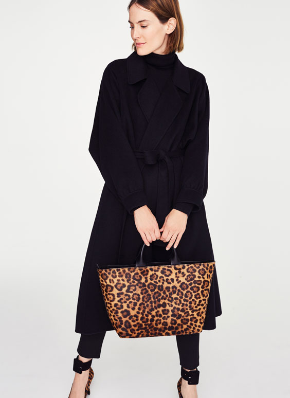 Τσάντα shopper animal print