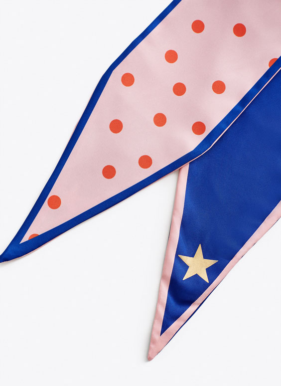 Polka dot neckerchief