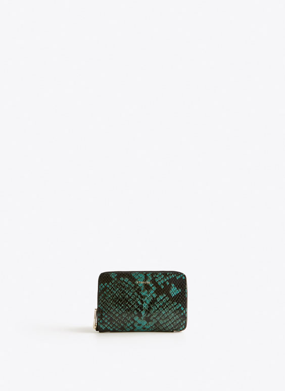 Cartera media serpiente
